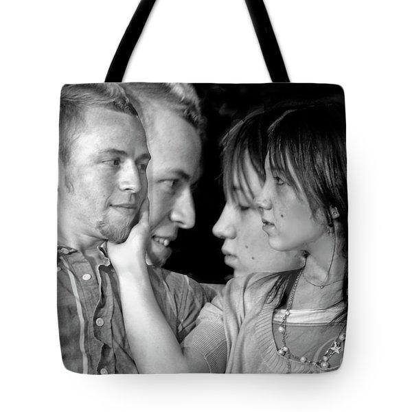 Love Story Tote Bag by Madeline Ellis