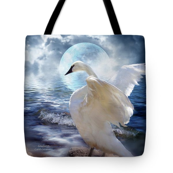 Love Swept Tote Bag by Carol Cavalaris