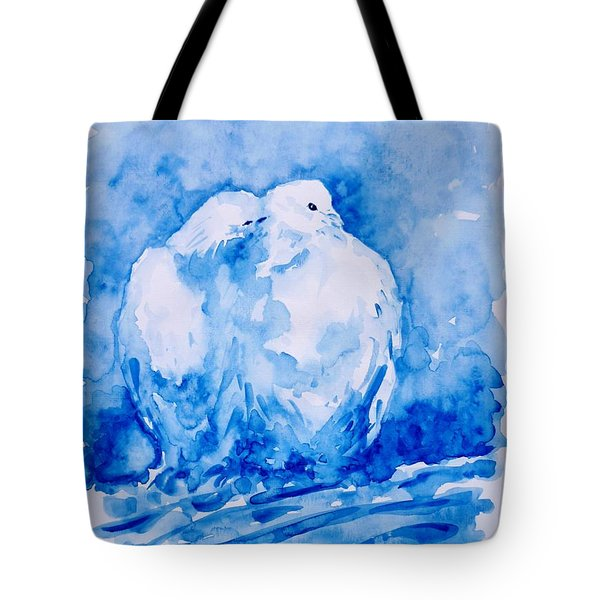 Love  Tote Bag by Zaira Dzhaubaeva