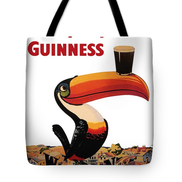 Lovely Day For A Guinness Tote Bag by Georgia Fowler