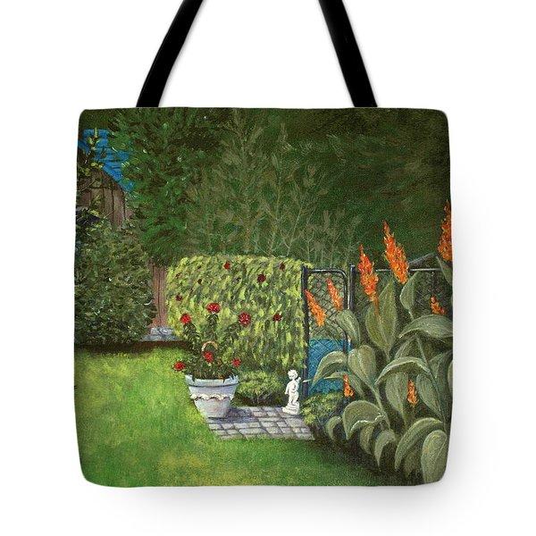 Lovely Green Tote Bag by Anastasiya Malakhova