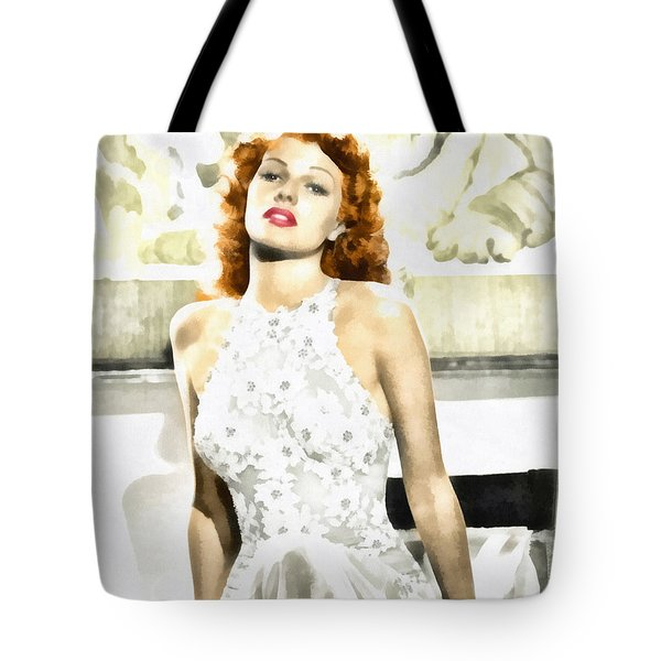 Lovely Rita Tote Bag by Mo T