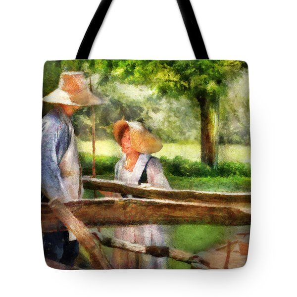 Lover - The Courtship Tote Bag by Mike Savad