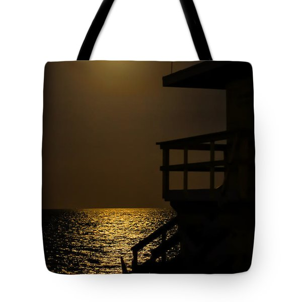 Lovers Moon Tote Bag by Rene Triay Photography