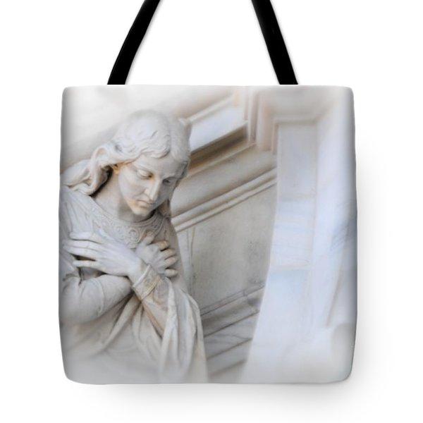 Loving Angel Tote Bag by Kathleen Struckle