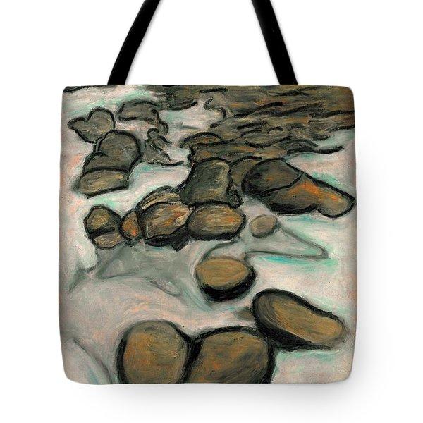 Low Tide Tote Bag by Carla Sa Fernandes