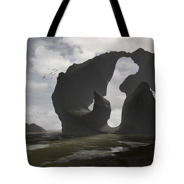 Low Tide Tote Bag by Cynthia Decker