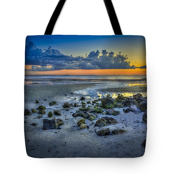 Low Tide on the Bay Tote Bag by Marvin Spates