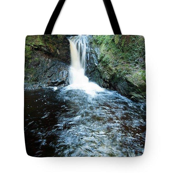 Lower Fall Puck's Glen Tote Bag by Gary Eason