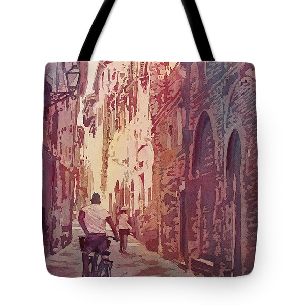 Lucca Tote Bag by Jenny Armitage