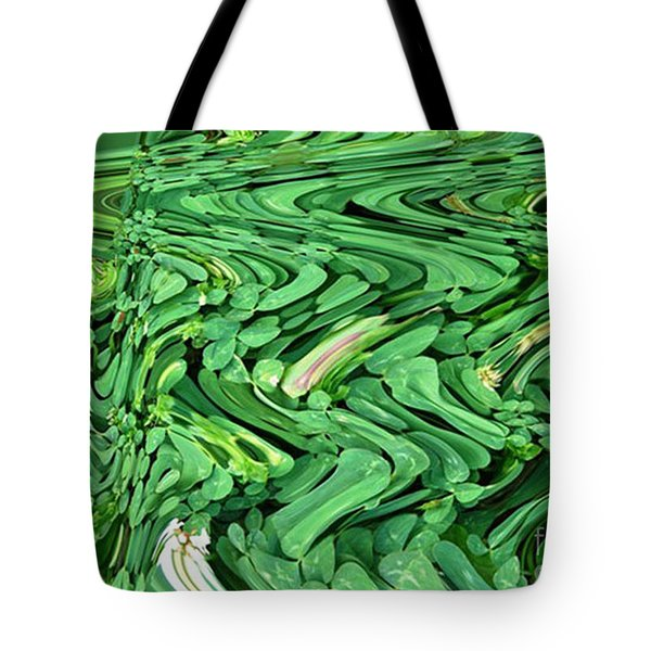 Lucky Clovers Tote Bag by Carol Lynch