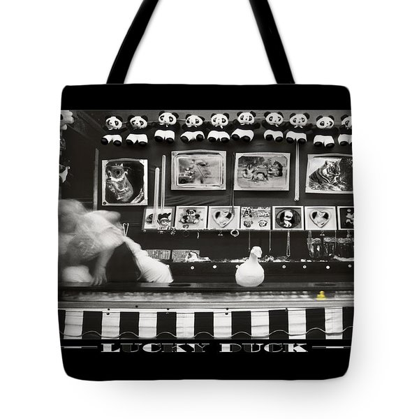 Lucky Duck Tote Bag by Mike McGlothlen