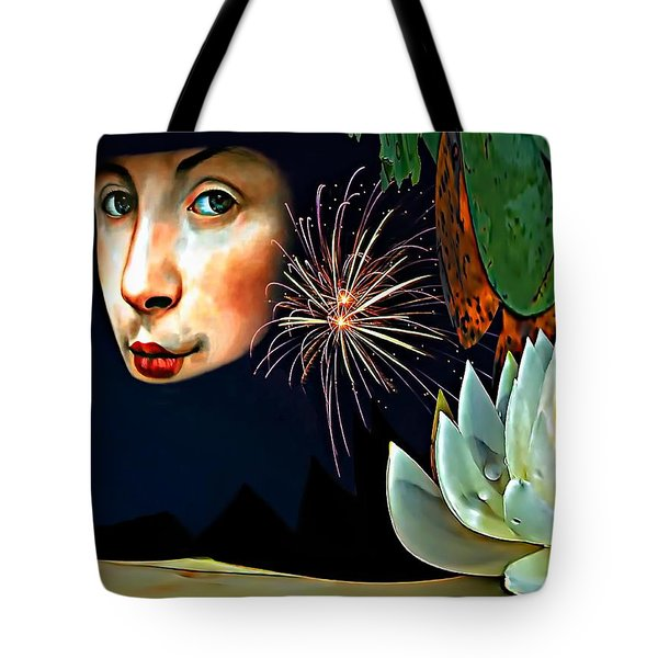 Lucy In The Sky With Diamonds 2    Tote Bag by Steve Harrington