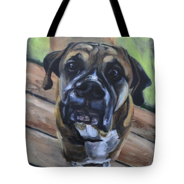 Lugnut Tote Bag by Donna Tuten