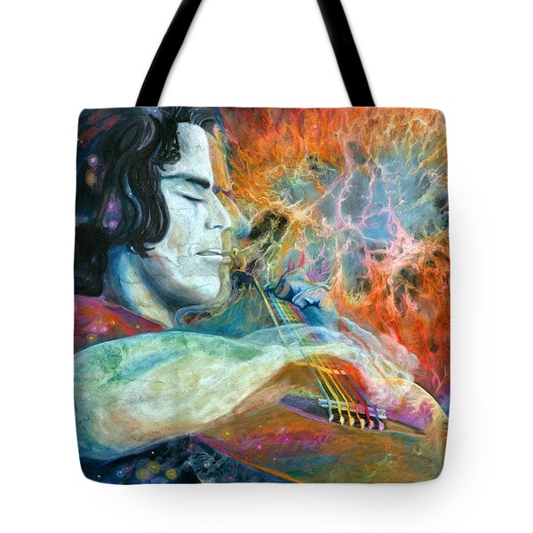 Lullabies For Nebulas Tote Bag by Kd Neeley