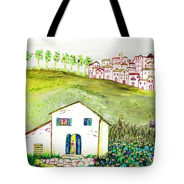 L'ultima Fatica Tote Bag by Loredana Messina