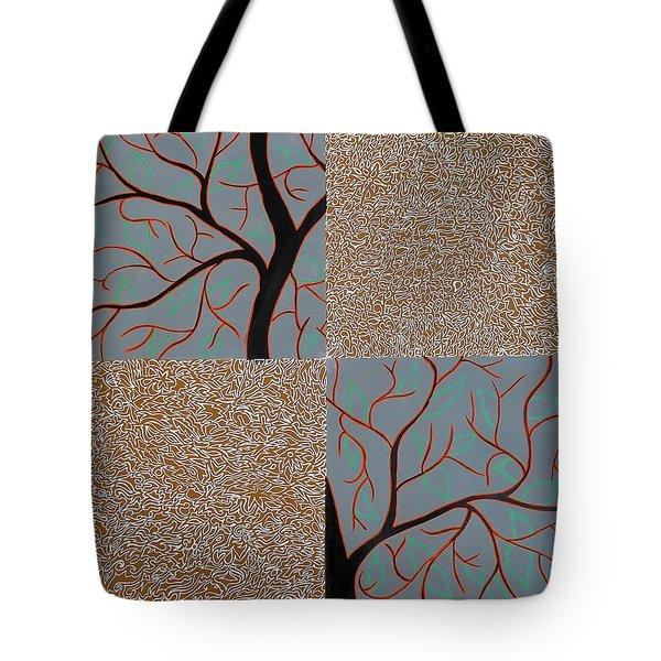 Luminous Tree Of Barsoom Tote Bag by Sumit Mehndiratta