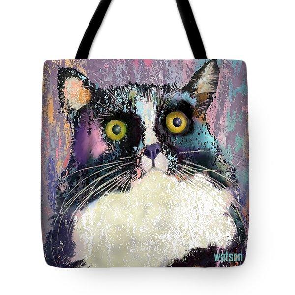 Luna Tote Bag by Marlene Watson