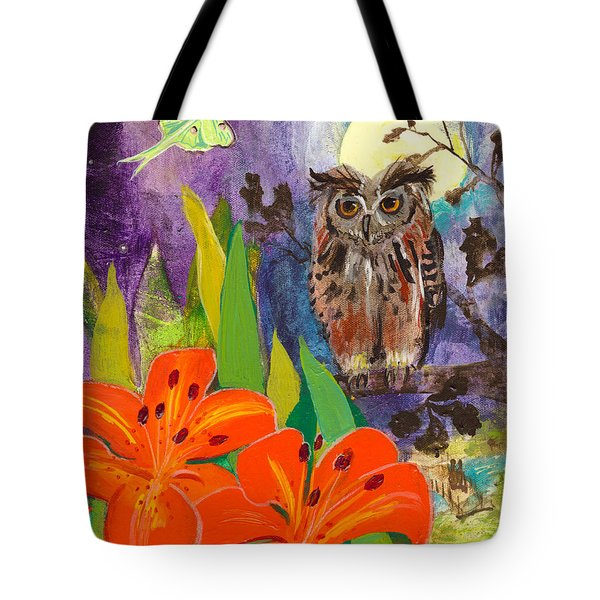 Lunar Enchantment Tote Bag by Robin Maria  Pedrero