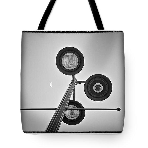 Lunar Lamp - Art Unexpected Tote Bag by Tom Mc Nemar