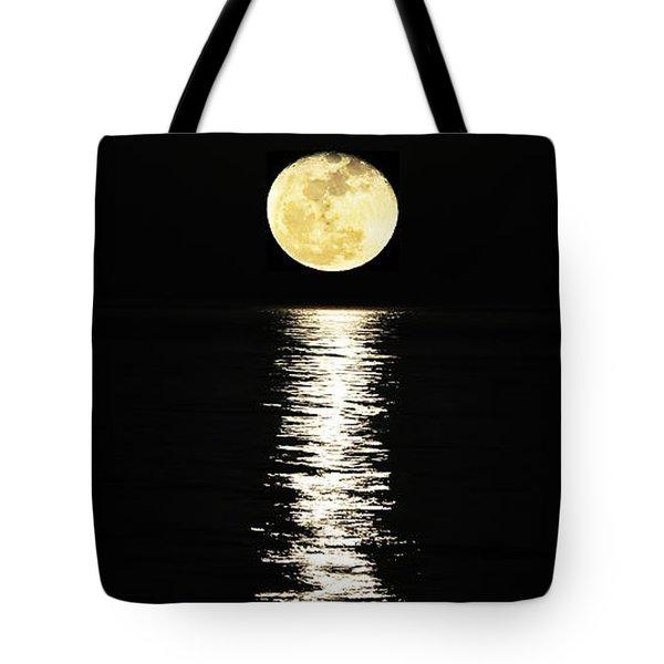 Lunar Lane Tote Bag by Al Powell Photography USA