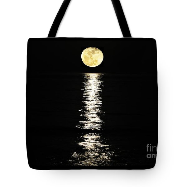 Lunar Lane Tote Bag by Al Powell Photography USA