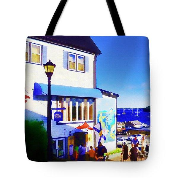 Lunenburg Vista View Tote Bag by Patricia L Davidson