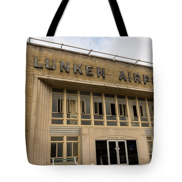 Lunken Airport in Cincinnati Ohio Tote Bag by Paul Velgos