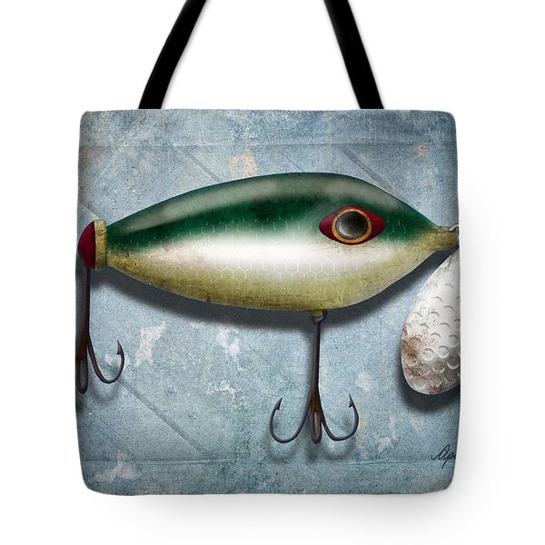 Lure I Tote Bag by April Moen