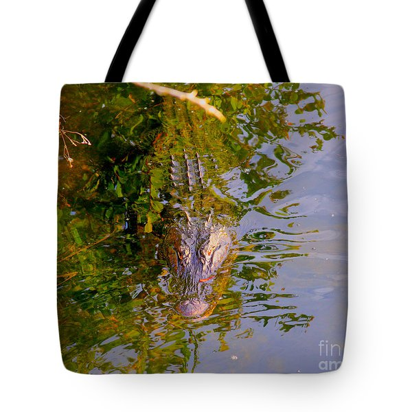 Lurking Tote Bag by Carey Chen