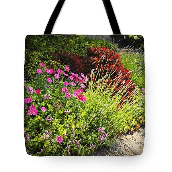 Lush garden Tote Bag by Elena Elisseeva