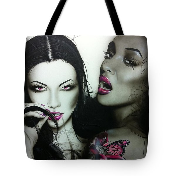 'Lust' Tote Bag by Christian Chapman Art