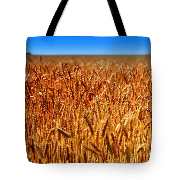 Lying In The Rye Tote Bag by Karen Wiles