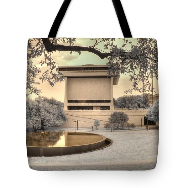 Lyndon B Johnson Presidential Library Tote Bag by Jane Linders