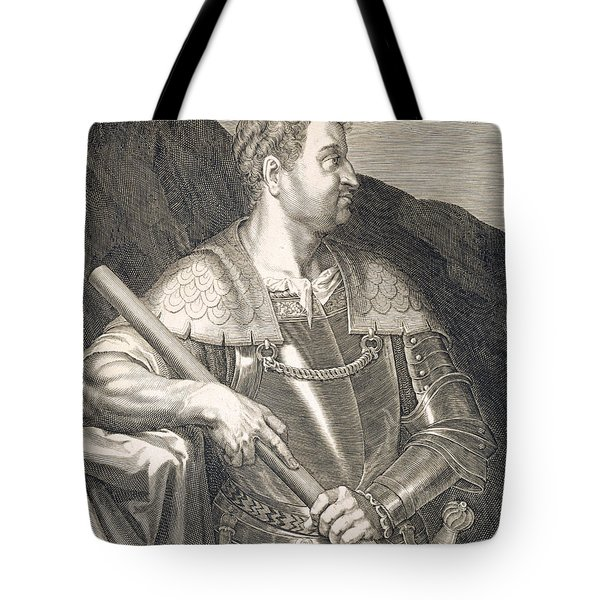 M Silvius Otho Emperor Of Rome Tote Bag by Titian