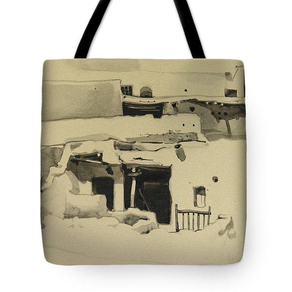 Maaloula Tote Bag by Mamoun Sakkal