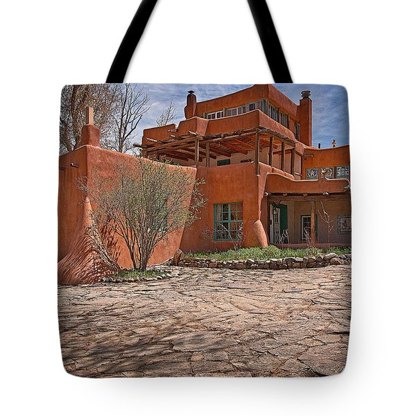 Mabel Dodge Luhan House  Tote Bag by Charles Muhle