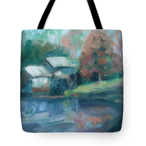 Mabry Mill Tote Bag by Donna Tuten