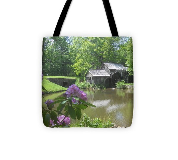 Mabry Mill In May Tote Bag by Diannah Lynch