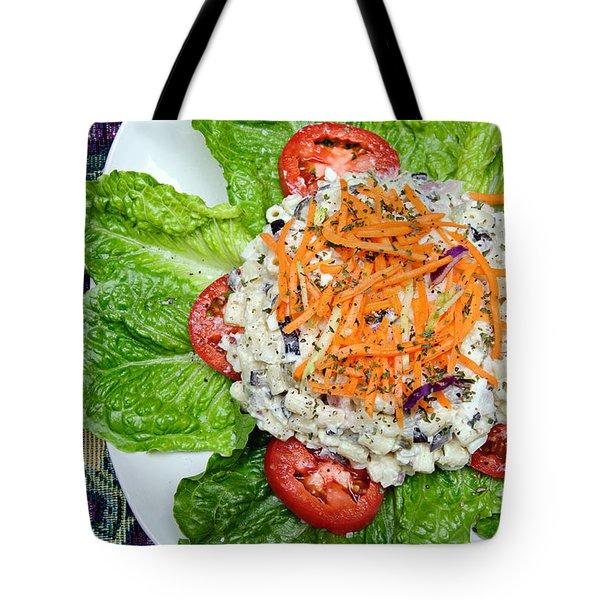 Macaroni Salad 1 Tote Bag by Andee Design