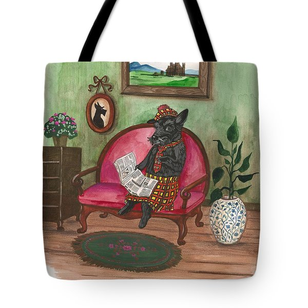 Macduff After Work Tote Bag by Margaryta Yermolayeva