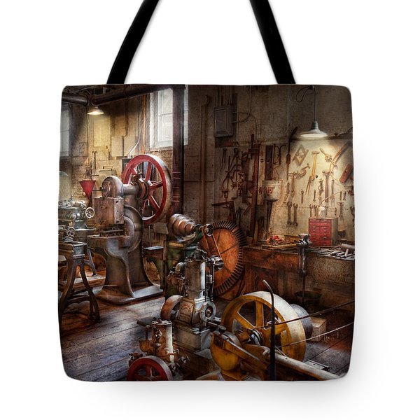 Machinist - A room full of memories  Tote Bag by Mike Savad