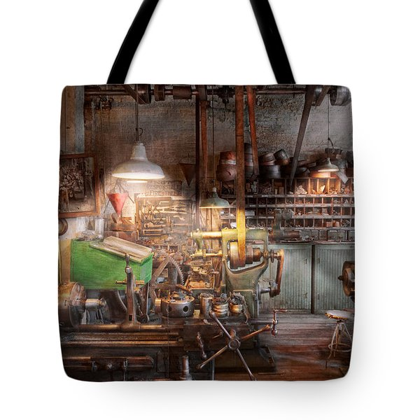 Machinist - It all starts with a Journeyman  Tote Bag by Mike Savad