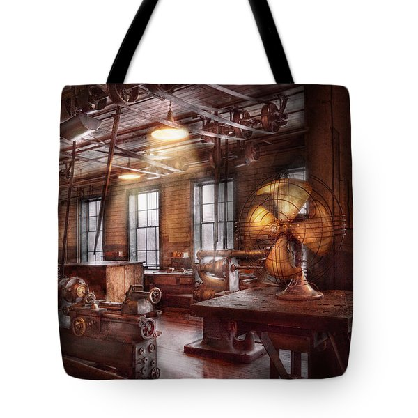 Machinist - The fan club Tote Bag by Mike Savad