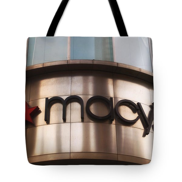 Macys Signage Tote Bag by Thomas Woolworth