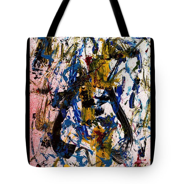 Mad Really Mad - White Tote Bag by Manuel Sueess