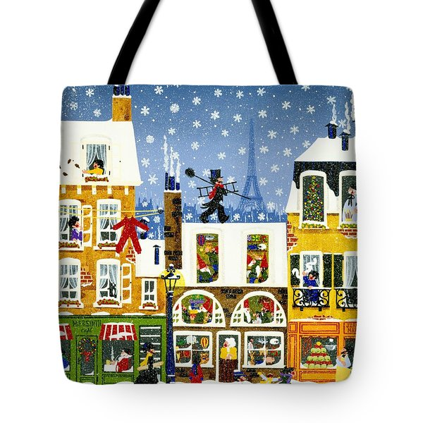 Made In Paris Tote Bag by Merry  Kohn Buvia