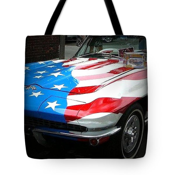 Made In Usa Tote Bag by M and L Creations