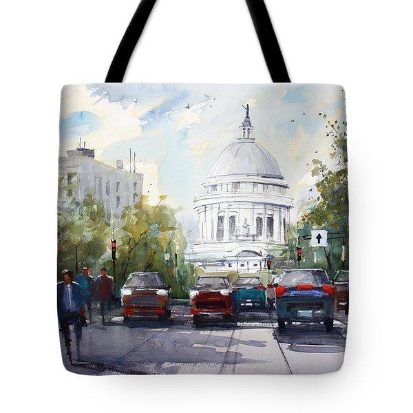 Madison - Capitol Tote Bag by Ryan Radke