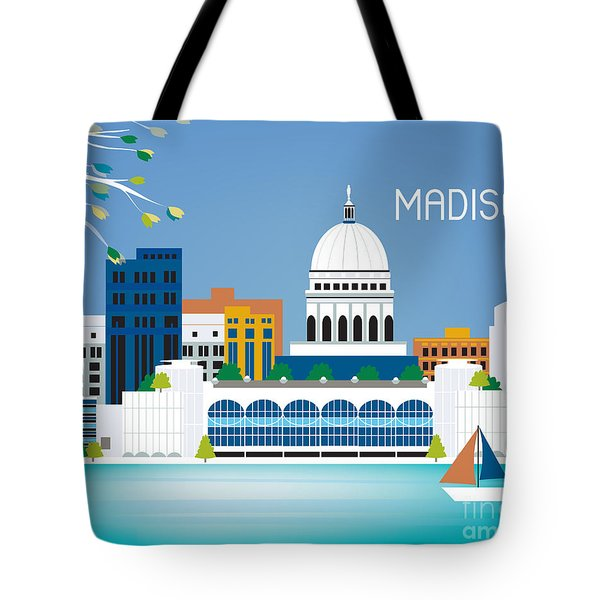 Madison Tote Bag by Karen Young